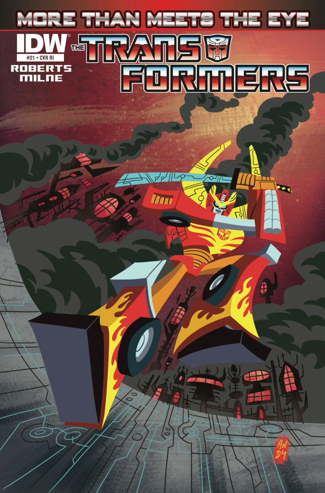 This September, IDW Gets Animated! (Note: not TFA)