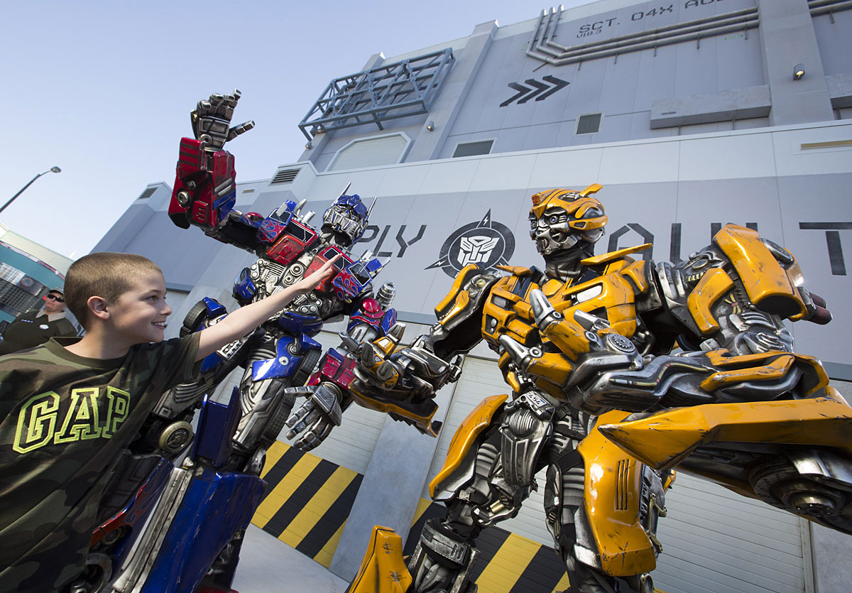 Transformers: The Ride - 3D now open at Universal Studios Florida