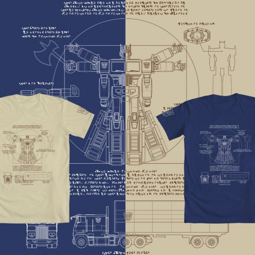 WeLoveFine Transformers T-Shirt Design Contest Winners