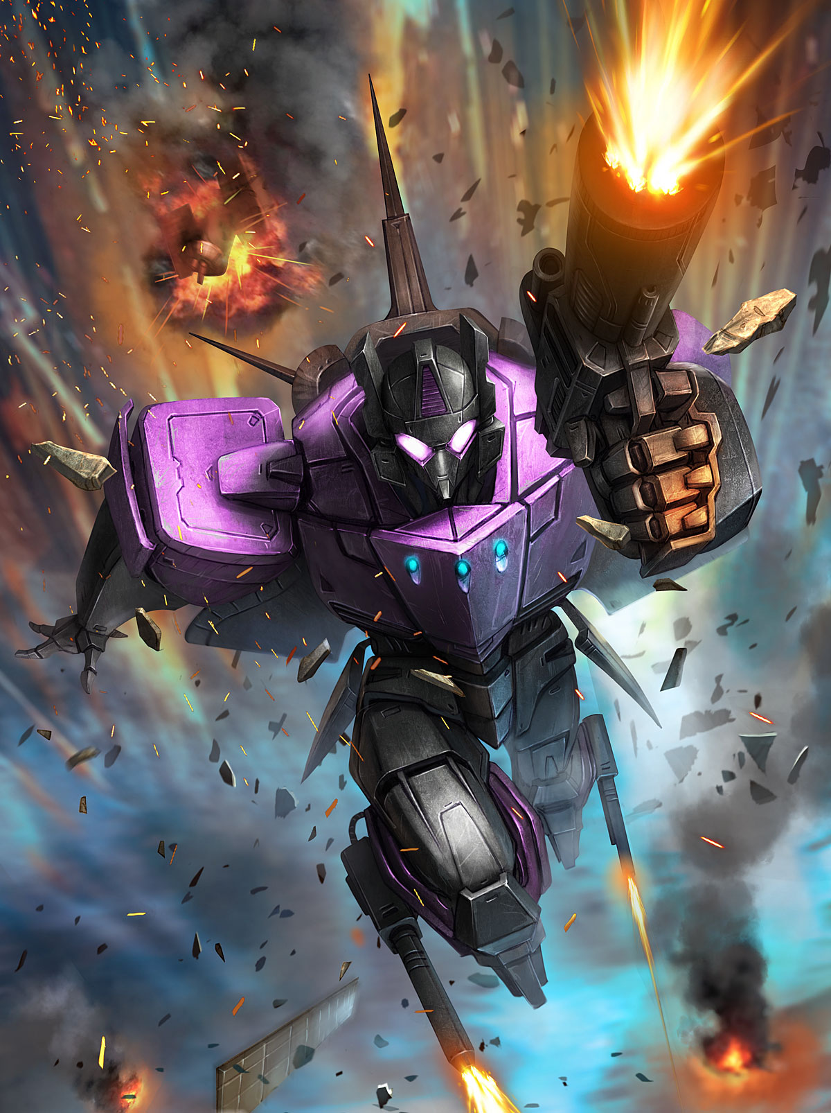 Transformers: Legends Mobile Device Game - War Dawn In-Game Episode