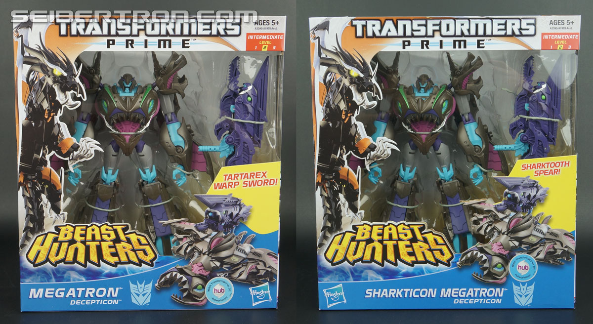 Sharkticon Megatron Packaging Variant and Shoulder Fix Video