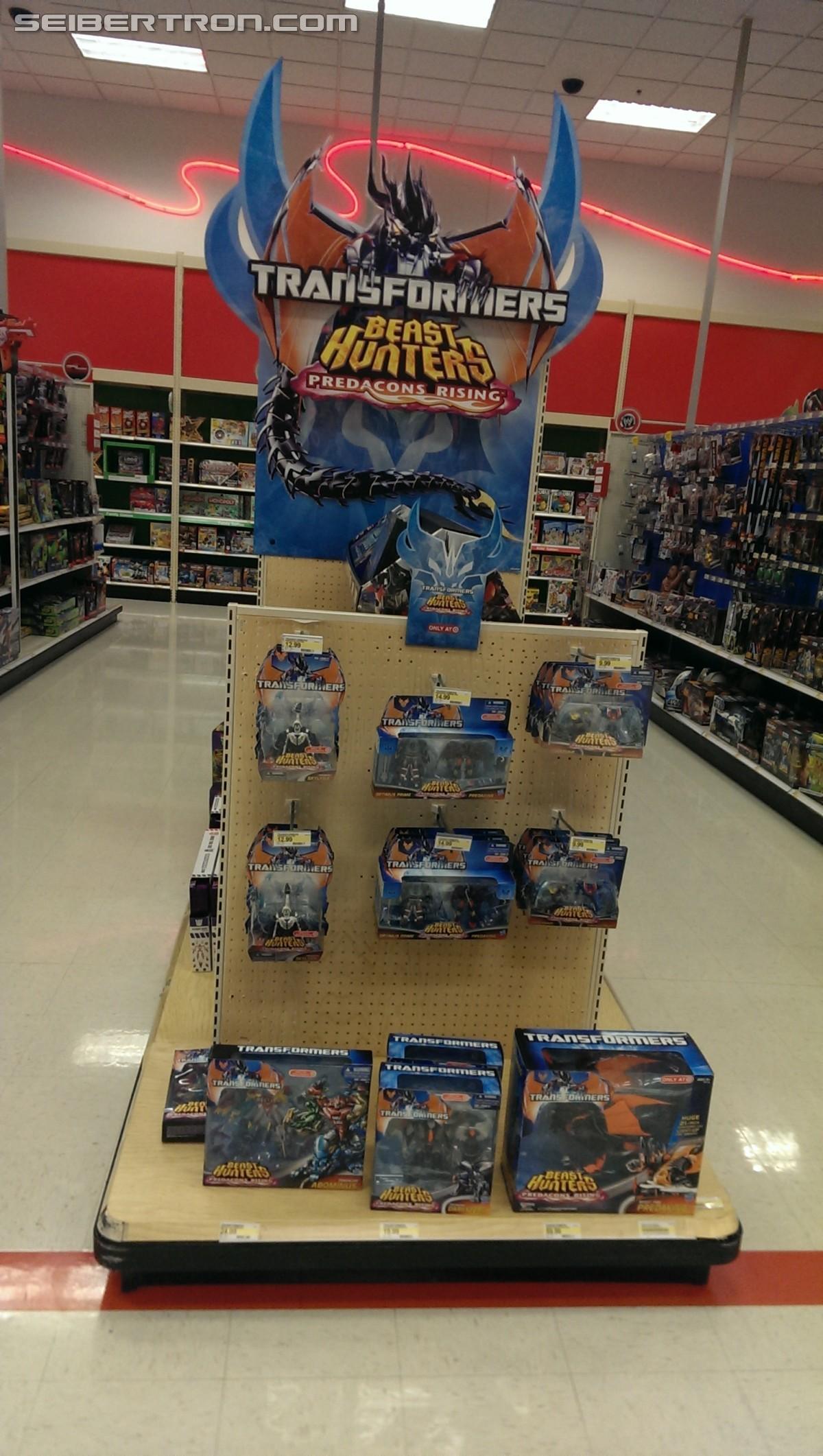 "Transformers News: ""Predacons Rising"" End Cap Display"