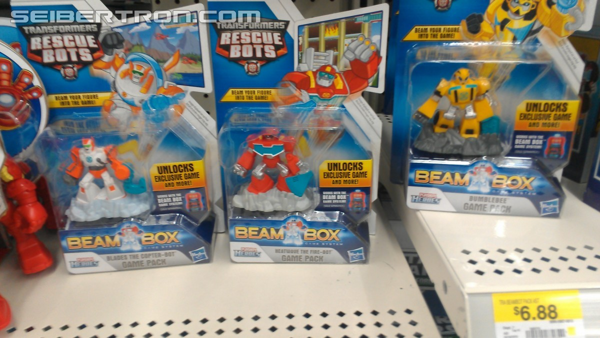Transformers News: Rescue Bots Beambox Video Game Console And Game Figurines Out At Retail