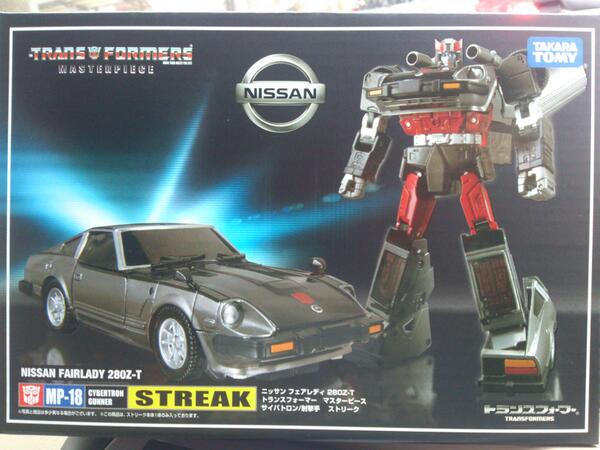 Transformers News: In-Hand Images: Takara Tomy Transformers Masterpiece MP-18 Bluestreak