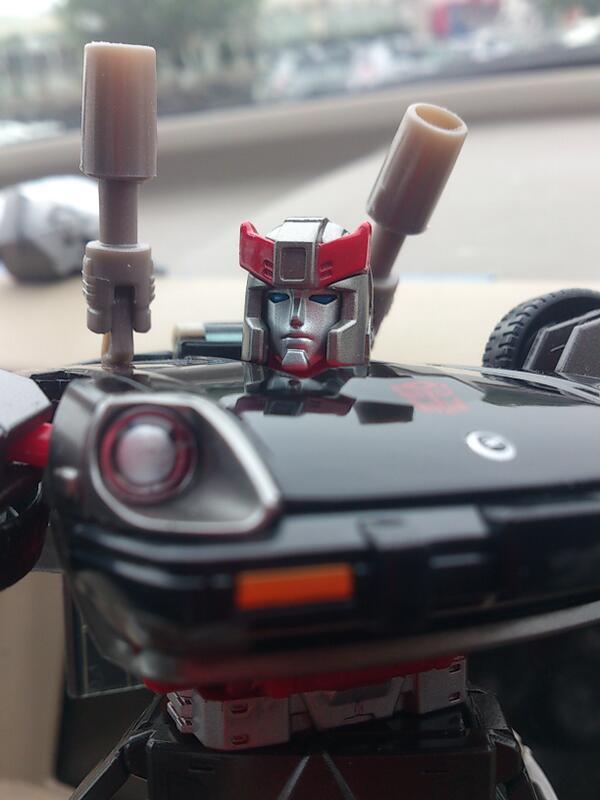 Transformers News: In-Hand Images: Takara Tomy Transformers Masterpiece MP-18 Bluestreak