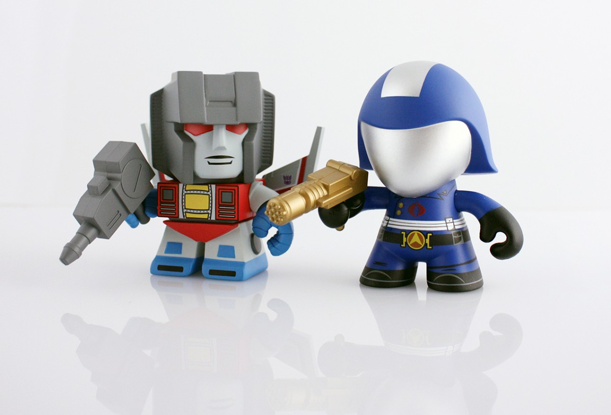 Transformers News: Newbury Comics Exclusive Starscream & Cobra Commander 2-Pack From The Loyal Subjects