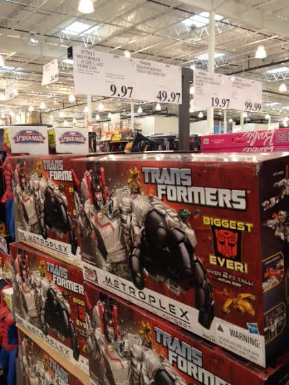 Transformers News: Costco Sale: Metroplex for $49.97!