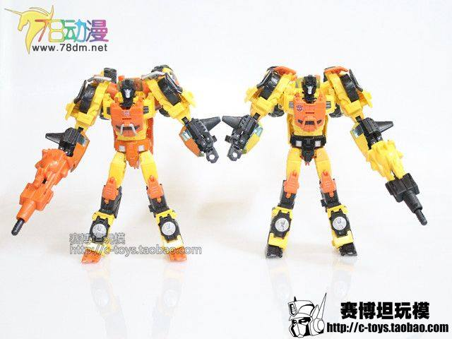 Transformers News: TakaraTomy Generations Sandstorm Gallery