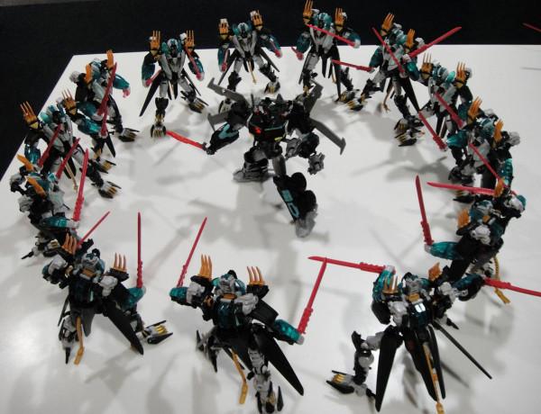 Transformers News: New Photos Of Beast Hunters Nemesis Prime And Black G-25 Leo Prime
