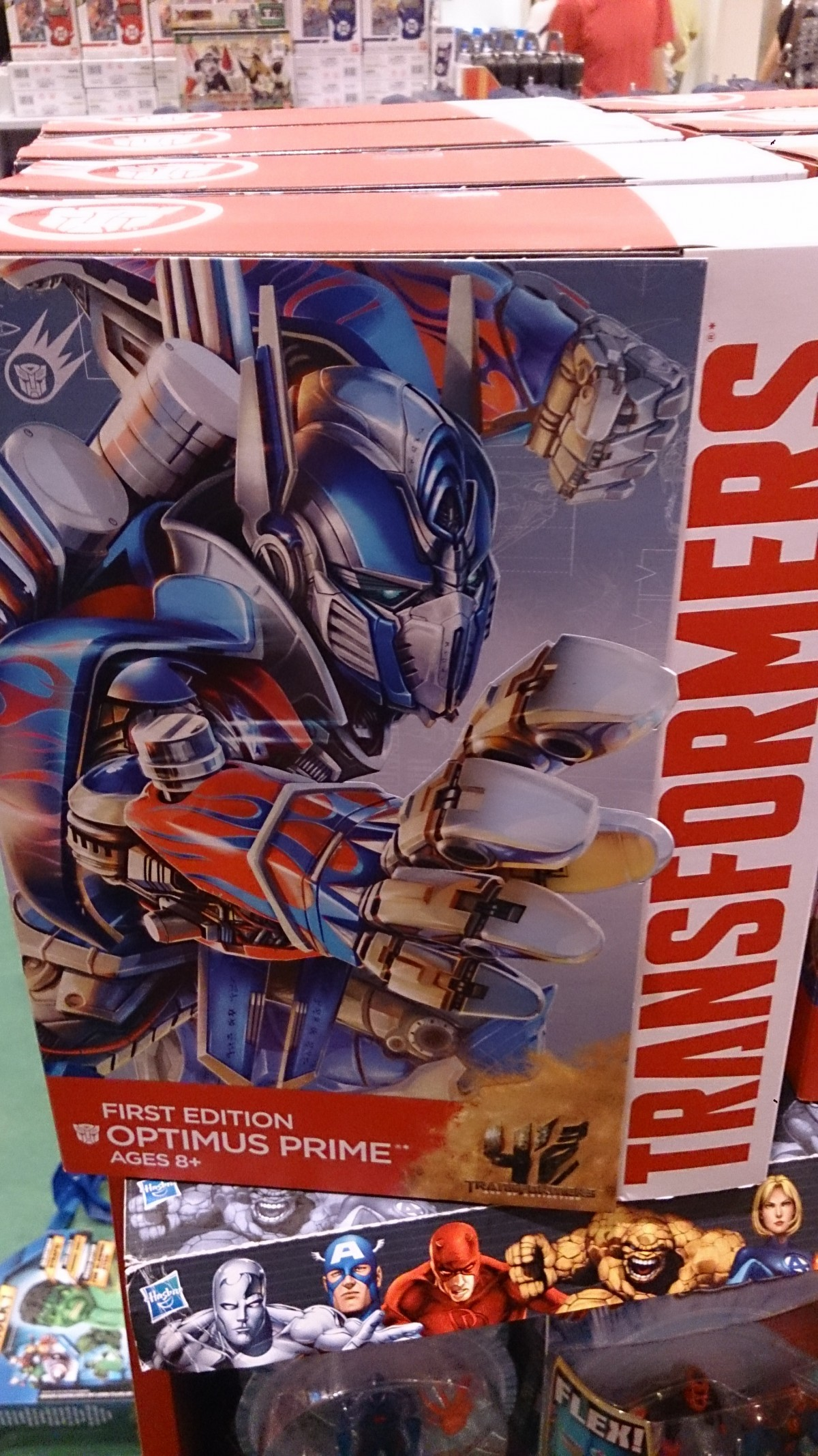 Transformers News: AoE First Edition Optimus Prime Sighted In Singapore
