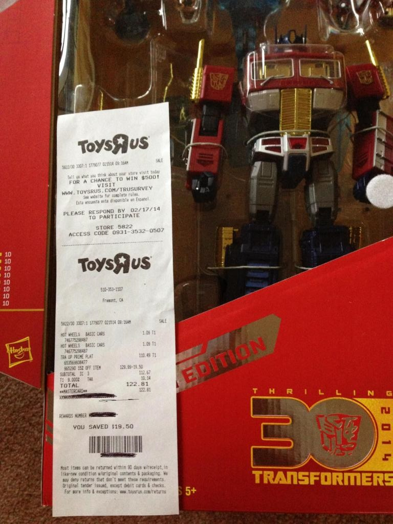Transformers News: YOTH Optimus Prime Sighted At Retail