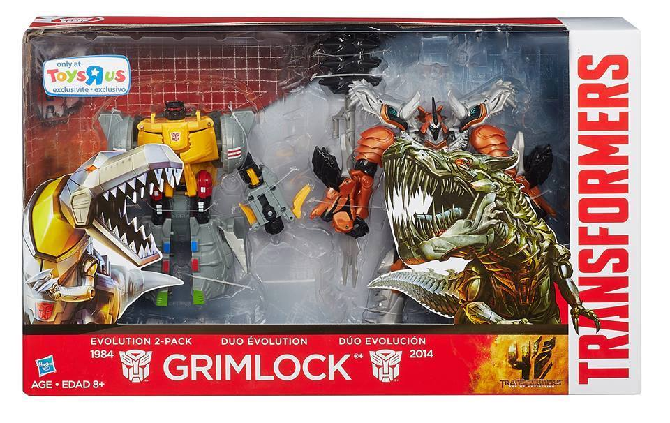 Transformers News: AoE Evolution 2-Packs Coming, Featuring Grimlock And More