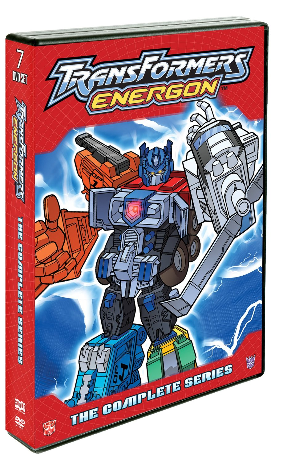 Transformers News: TRANSFORMERS ENERGON: The Complete Series 7-DVD set debuts on home entertainment shelves May 6, 2014