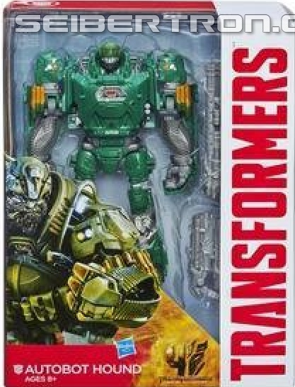 Transformers News: Official AoE Voyager Class Hound And Deluxe Class Slash In Package Images