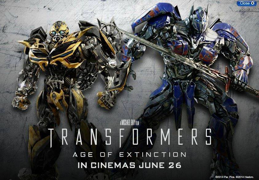 Transformers News: New Age Of Extinction Bumblebee Robot Image