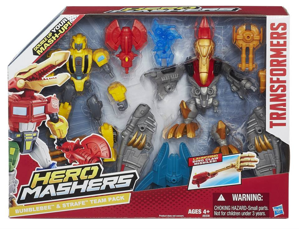Transformers News: Age Of Extinction Hero Mashers Official Images
