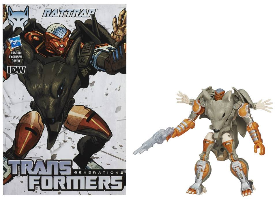 Transformers News: Official Rattrap And Tankor In Package Images