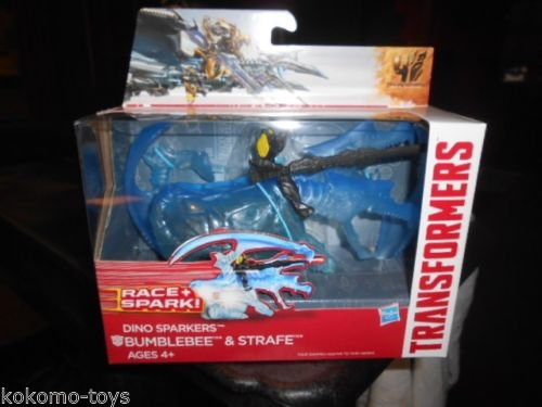 Transformers News: Dino Sparkers in Hand Images
