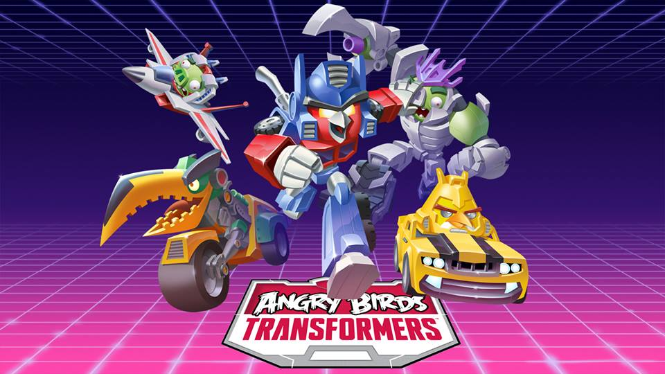 Transformers News: Angry Birds Transformers Website Now Active, First Official Artwork Available