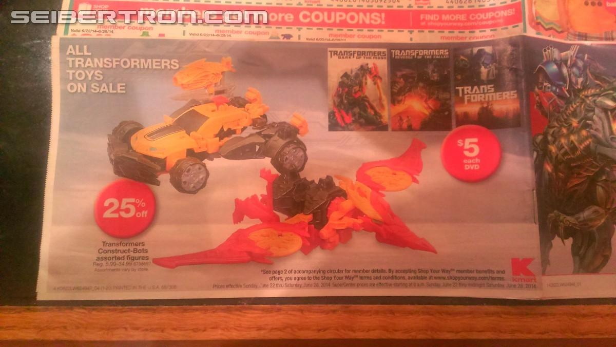 Transformers News: Wal*Mart AoE Figure Pallet, K-Mart Transformers Sale, Chance To Win A Trip