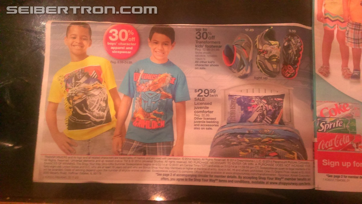 Transformers News: Wal*Mart AoE Figure Pallet, K-Mart Transformers Sale, Chance To Win A Trip
