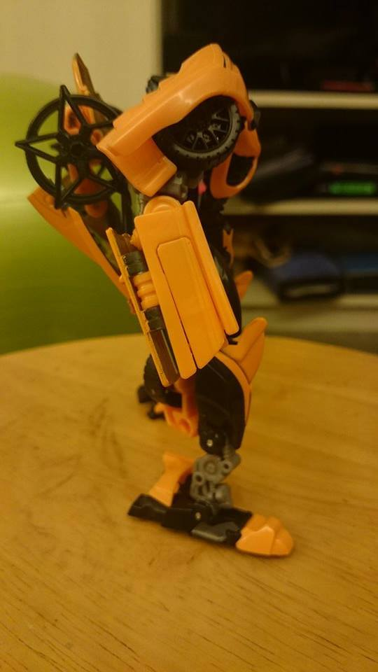 Transformers News: Evolution Of Bumblebee In Hand Images