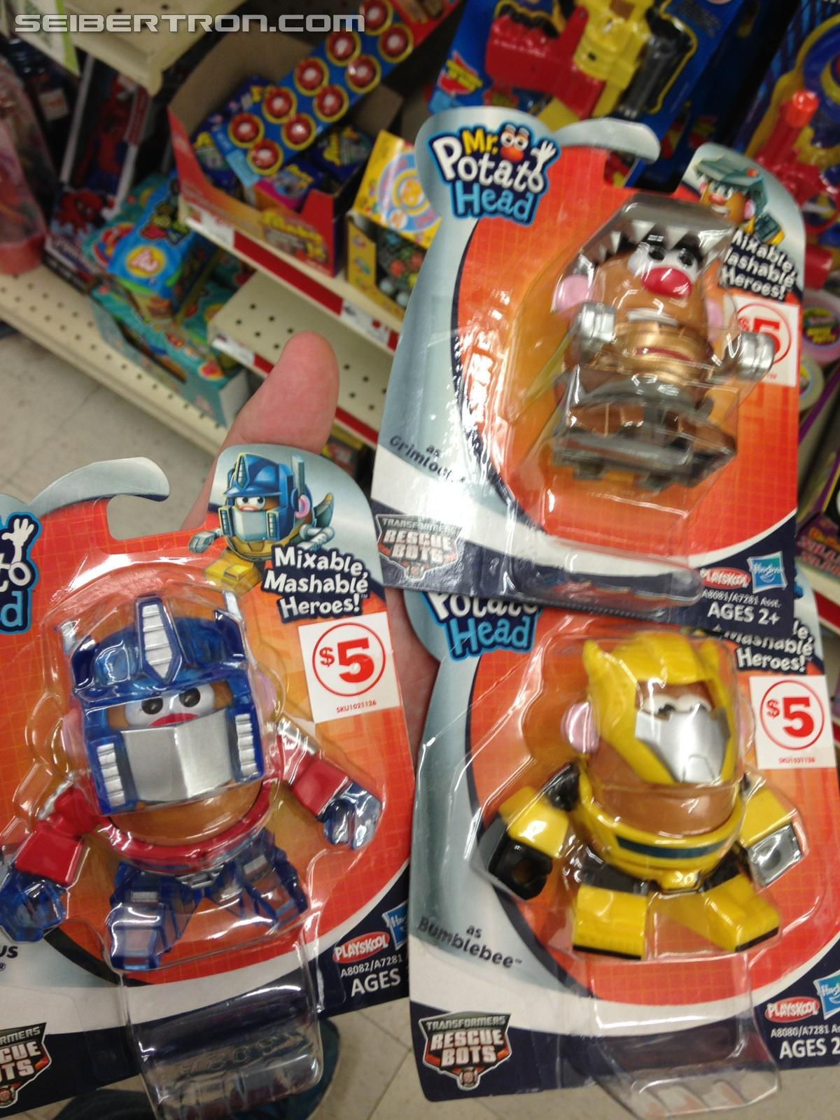 Transformers News: Transformers Mr. Potato Head Retail Sighting At Family Dollar