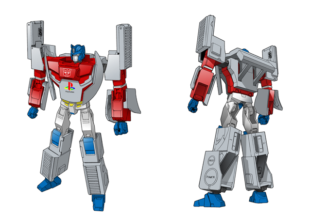 Transformers News: Coming Soon: Playstation (Original) Optimus Prime