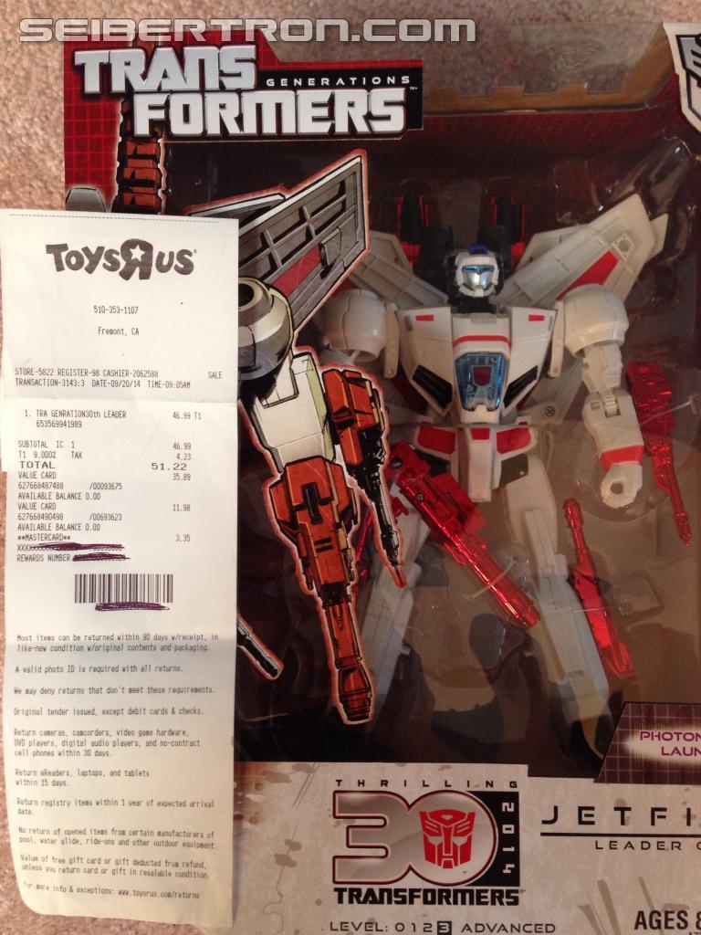 Transformers News: Generations Acid Storm And Gears Found At Retail, Jetfire At TRU
