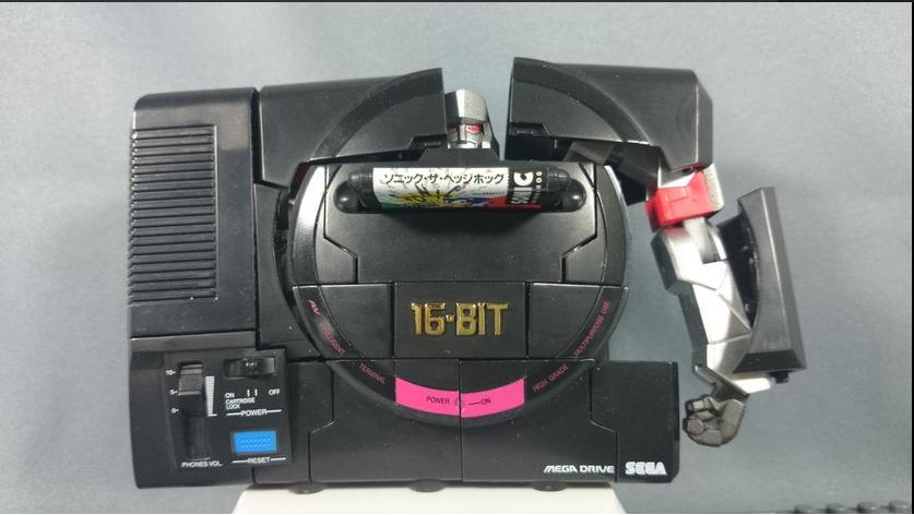 Transformers News: Alfes2010 Presents Mega Drive Megatron In-Hand Pictorial