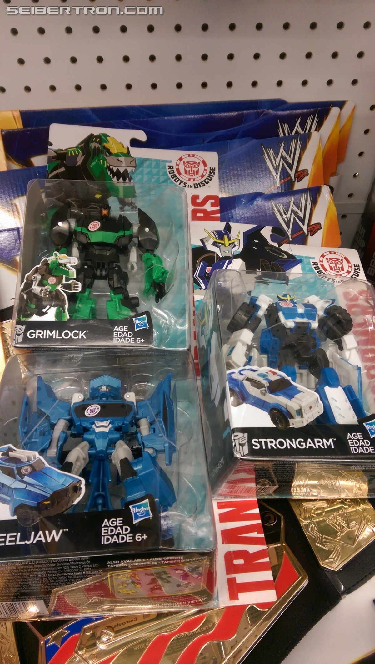 Transformers News: Robots in Disguise (2015) Warrior Class Sighted At US Retail