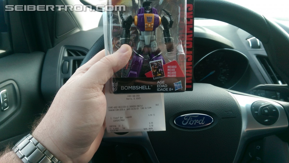 Transformers News: Transformers Generations Combiner Wars Legends Sighted at Retail