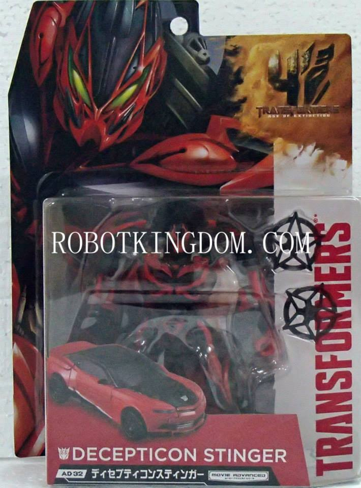 Transformers News: AD-32 Movie Advanced Stinger In Package Images And Release Date