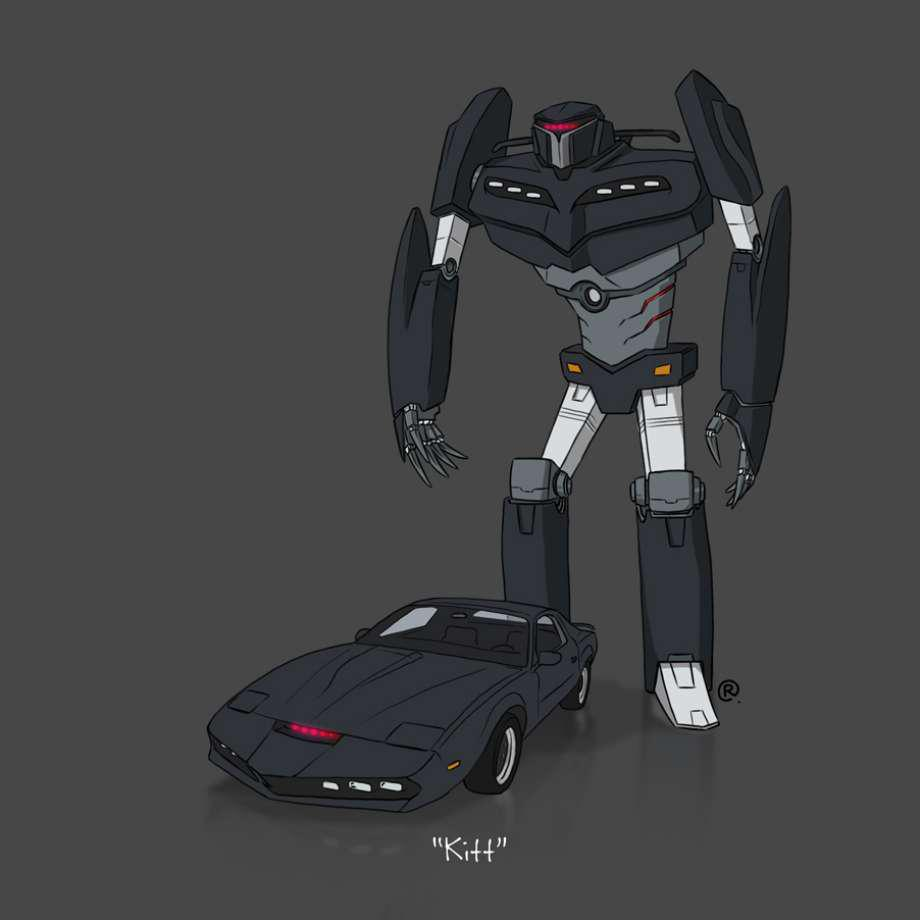 Transformers News: 80's TV Show Vehicles Reimagined As Transformers