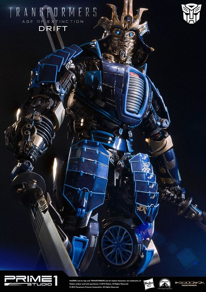 Transformers News: Prime 1 Studio Age Of Extinction Drift Info And Mini-Gallery