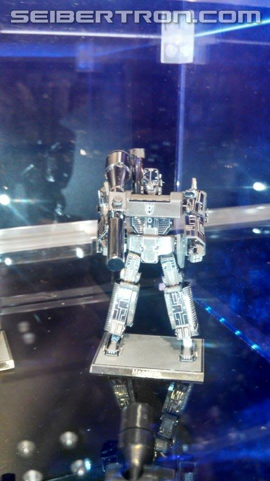 Transformers News: Toy Fair US 2015 Coverage - Transformers G1 Metal Earth 3D Models Unveiled