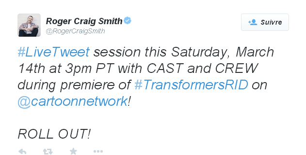 Transformers News: Live Tweet Session with Cast of Robots in Disguise