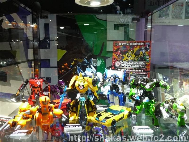 Transformers News: Anime Japan Expo 2015 Features Transformers Adventure Line And Masterpiece Star Saber