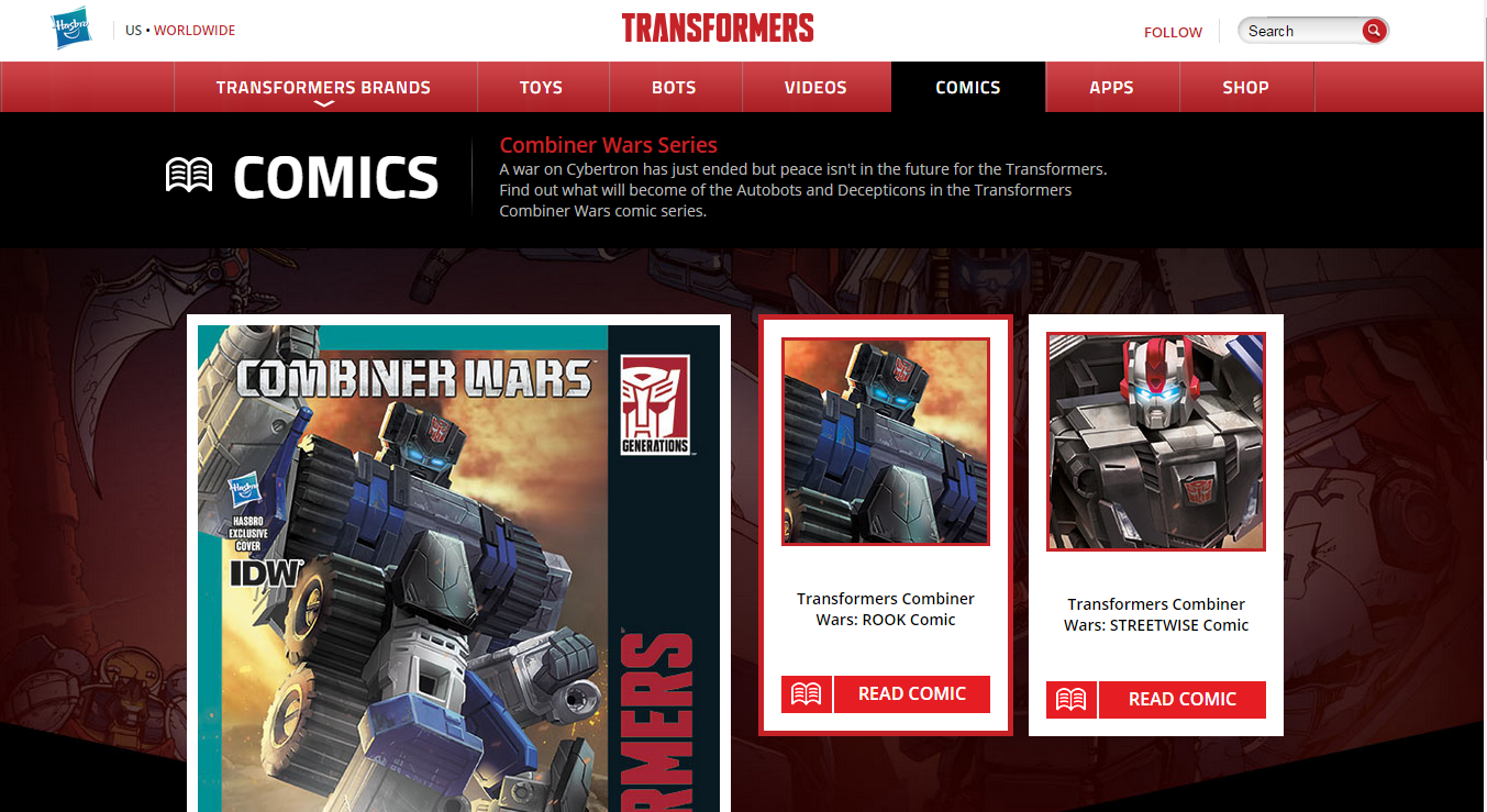 Transformers News: Combiner Wars Pack In Comics Sneak Peeks On Transformers.com