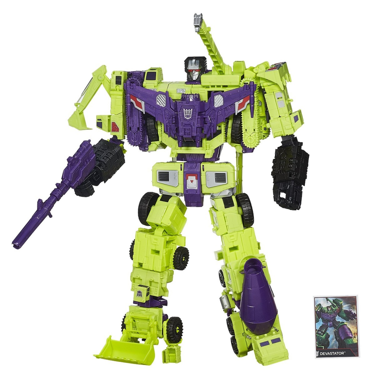 Transformers News: Combiner Wars Devastator Listed (But Not Yet For Sale) On Amazon.com
