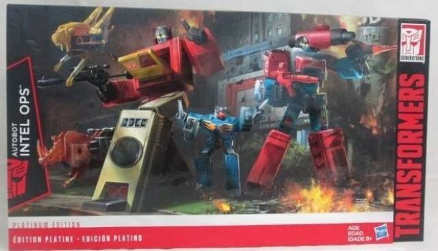 Transformers News: Platinum Edition Trypticon and Blaster/Perceptor 2-Pack Reissues Preorders Now Live