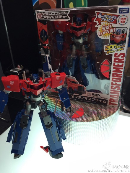 Transformers News: Tokyo Toy Show 2015 - Transformers Adventure Line Optimus, Jazz And Sideswipe Images