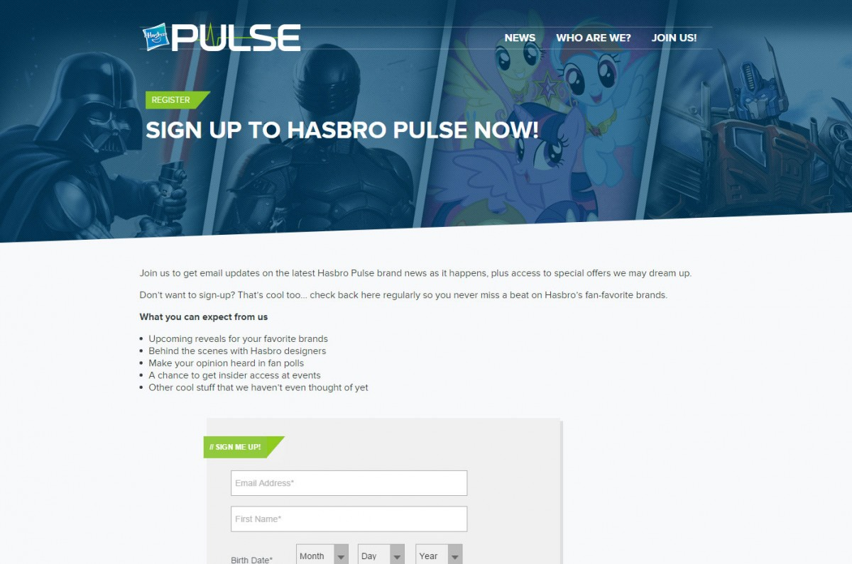 Transformers News: Hasbro Pulse is LIVE ... get info directly from Hasbro