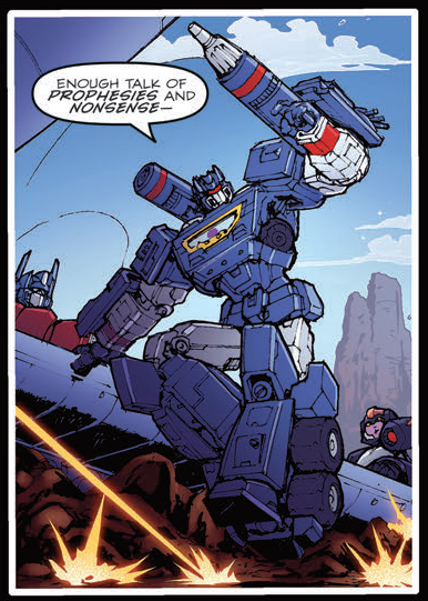 Transformers News: IDW The Transformers #54 Review