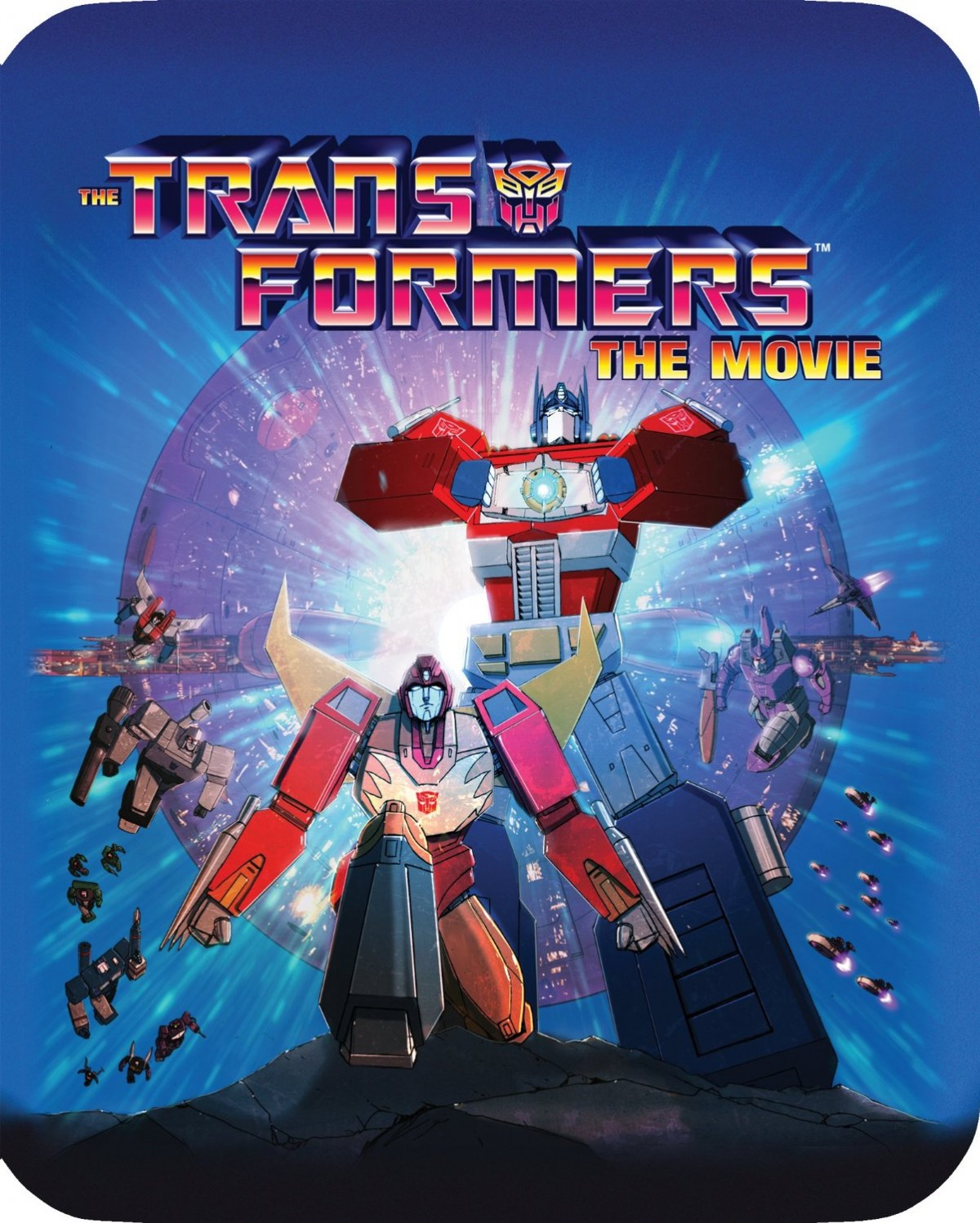 Transformers News: Limited Edition 30th Anniversary Blu-Ray Steelbook of Transformers: The Movie from Shout! Factory