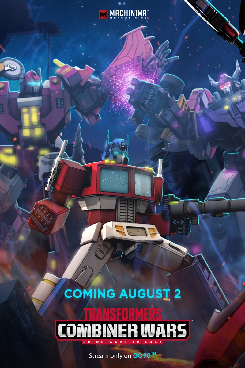 Transformers News: Machinima Transformers Combiner Wars New Poster Featuring Computron, Menasor, Optimus