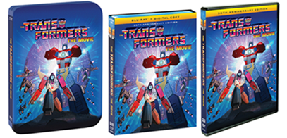 Transformers News: Press Release: Transformers The Movie 30th Anniversary Blu-Ray Bonus Content Revealed