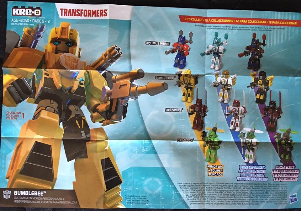 Transformers News: New Transformers Robots In Disguise Kre-O Images
