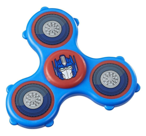 "Transformers News: More Images of Transformers ""Fidget Its"" Spinners"