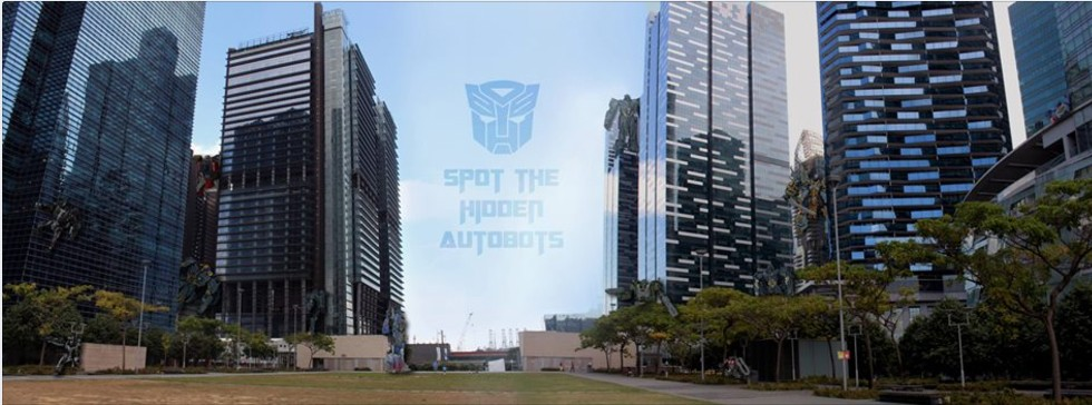 Transformers News: Hasbro Singapore - Spot the Hidden Autobots Contest